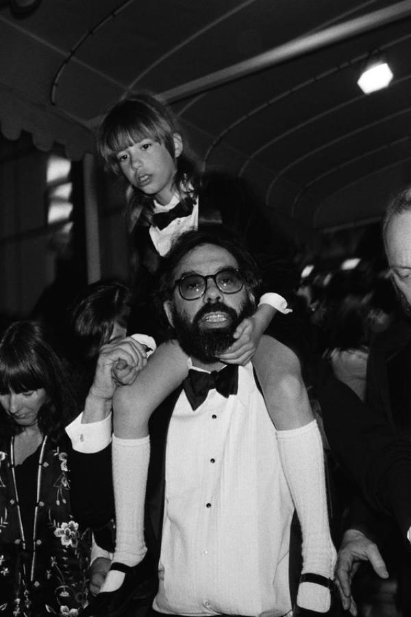 Sofia Coppola y Francis Ford Coppola