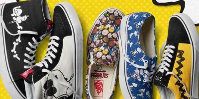 Vans lanza una colección especial inspirada en Snoopy