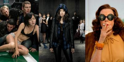 Series para ver este fin de semana: Sense8, Orphan Black y Feud