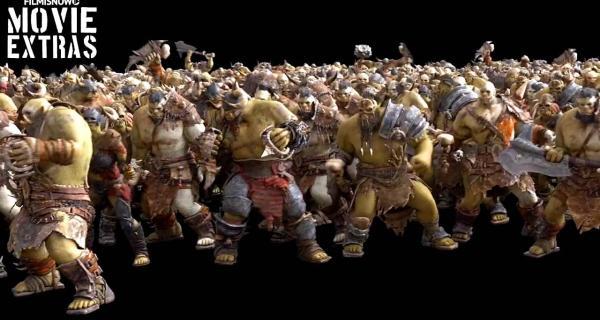 Efectos especiales de Warcraft - La Horda