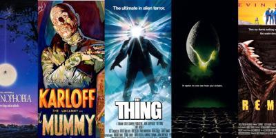 Los 50 mejores pósters de películas de monstruos