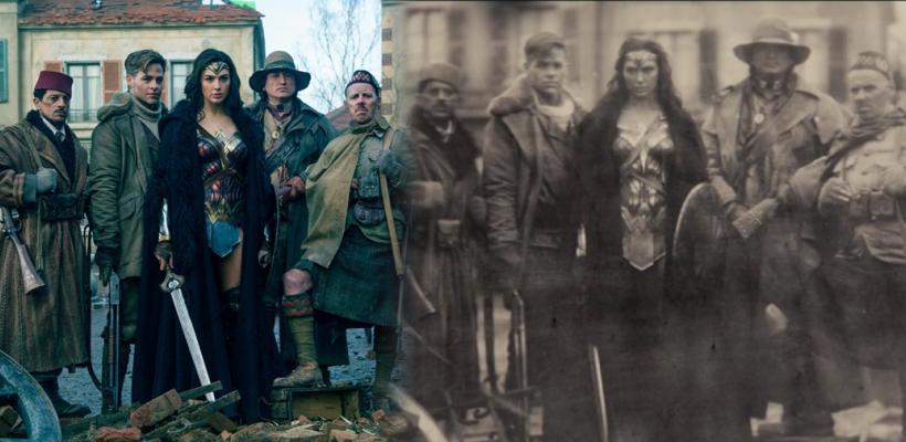 Mujer Maravilla: recrear la fotografía de Batman v Superman fue difícil