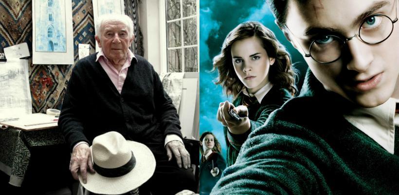 El profesor Everard, de Harry Potter falleció a los 101 años