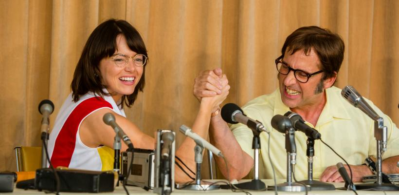 Ve el nuevo avance de Battle of the Sexes con Emma Stone y Steve Carell