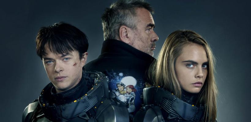 Luc Besson, Dane DeHaane y Cara Delevingne vienen a México para el estreno de Valerian y la Ciudad de los Mil Planetas