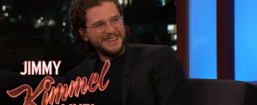 Kit Harington en en Jimmy Kimmel Live