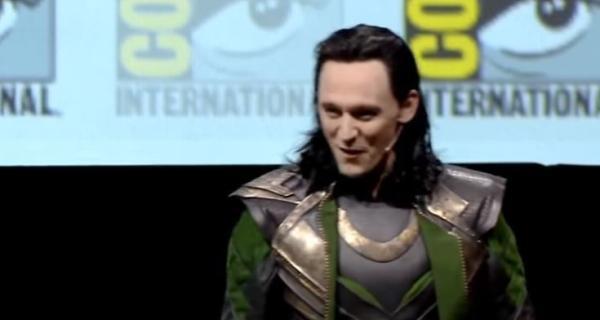Loki en Comic-Con