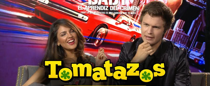 Entrevista Baby Driver: Ansel Elgort y Eiza González