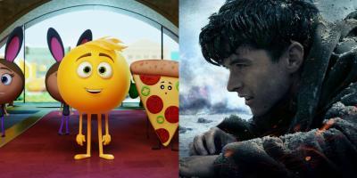 Emoji- La Película podría quitarle el primer lugar de taquilla a Dunkerque en Estados Unidos