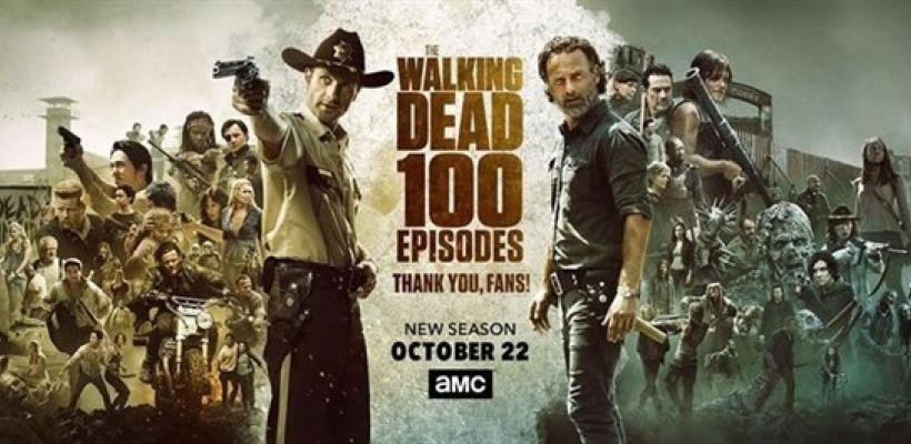 The Walking Dead celebra sus 100 episodios con un emotivo video dedicado a los fans