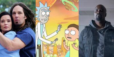 Series para ver este fin de semana: Wet Hot American Summer: 10 Years Later, Rick and Morty, Luke Cage
