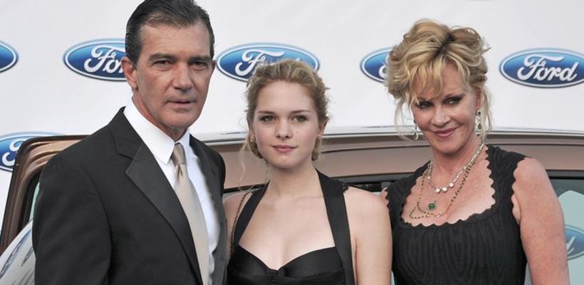 Conoce a la hermosa y sensual hija de Antonio Banderas y Melanie Griffith