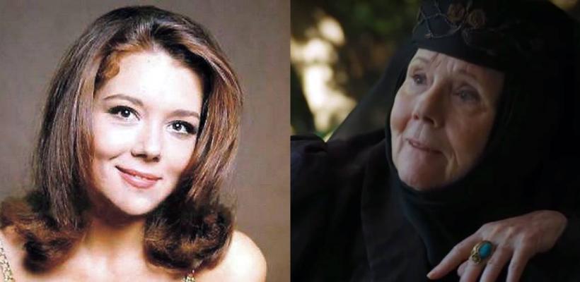 Game of Thrones: actriz que interpreta a Olenna Tyrell era una belleza de joven