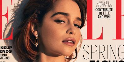 Emilia Clarke posa sensualmente y habla sobre el final de Game of Thrones