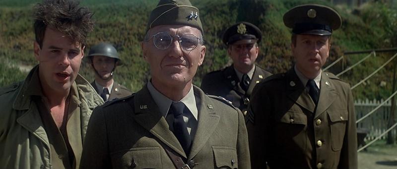 Dan Aykroyd and Robert Stack in 1941 (1979)