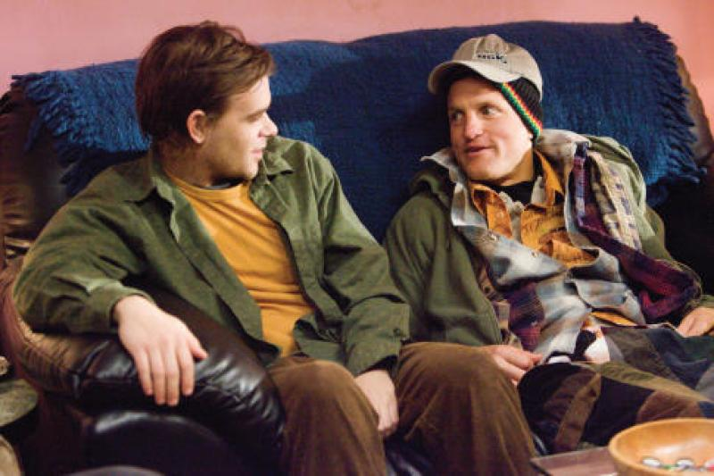 Woody Harrelson and Nick Stahl in Sleepwalking (2008)