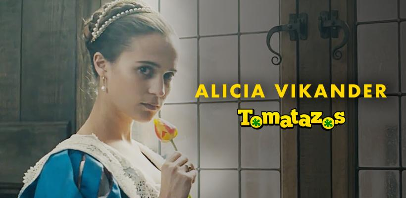 Escenas de sexo explícito de Alicia Vikander provocan que prohíban el tráiler de Tulip Fever en TV