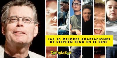 Las 10 mejores adaptaciones de Stephen King en el cine según el Tomatómetro