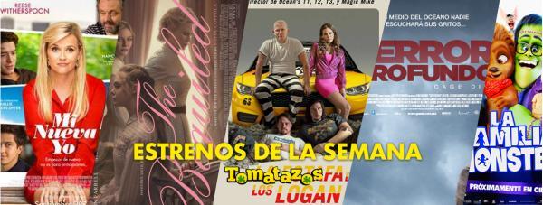 Estrenos en cines de México del 08 de septiembre de 2017