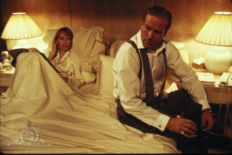 William Hurt and Mia Farrow in Alice (1990)