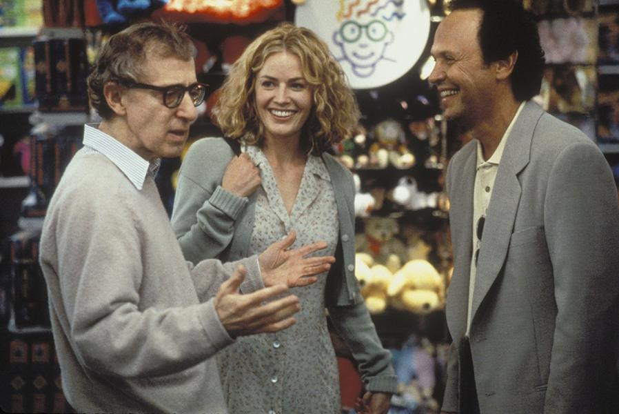 Woody Allen, Elisabeth Shue, and Billy Crystal in Deconstructing Harry (1997)