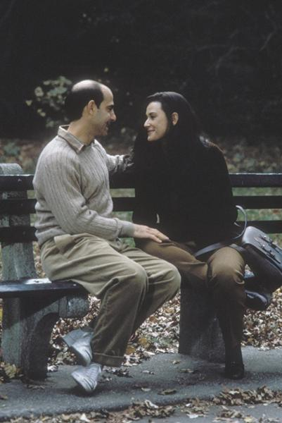 Demi Moore and Stanley Tucci in Deconstructing Harry (1997)