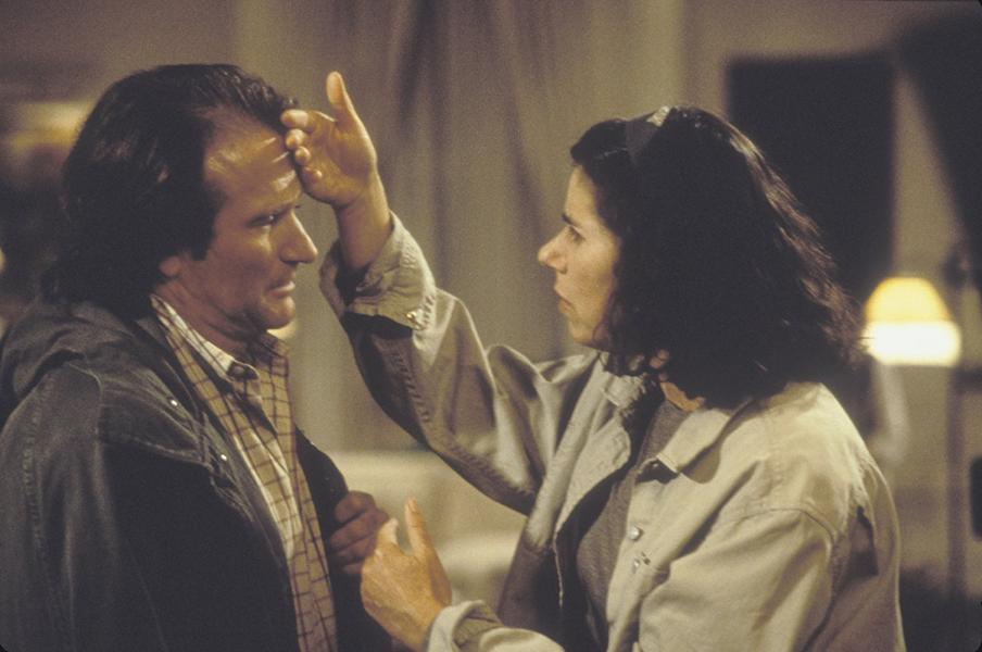 Robin Williams and Julie Kavner in Deconstructing Harry (1997)