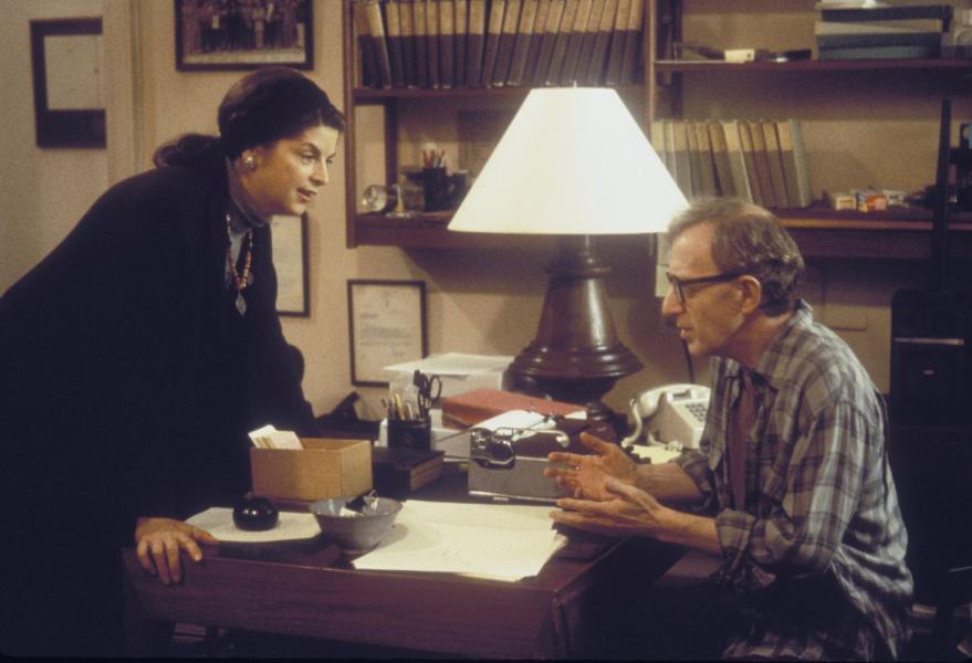 Woody Allen and Kirstie Alley in Deconstructing Harry (1997)