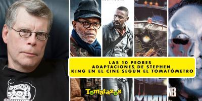 Las 10 peores adaptaciones de Stephen King en el cine según el Tomatómetro