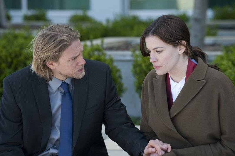 Liv Tyler and Charlie Hunnam in The Ledge (2011)