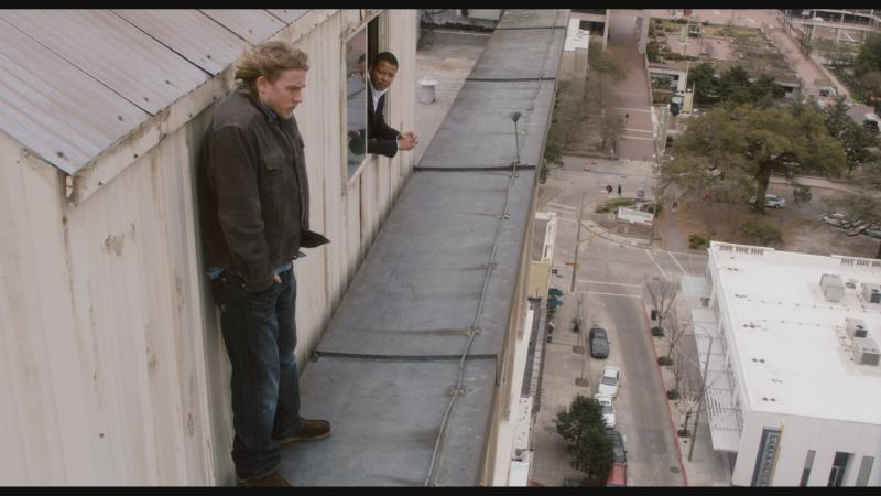 Terrence Howard and Charlie Hunnam in The Ledge (2011)