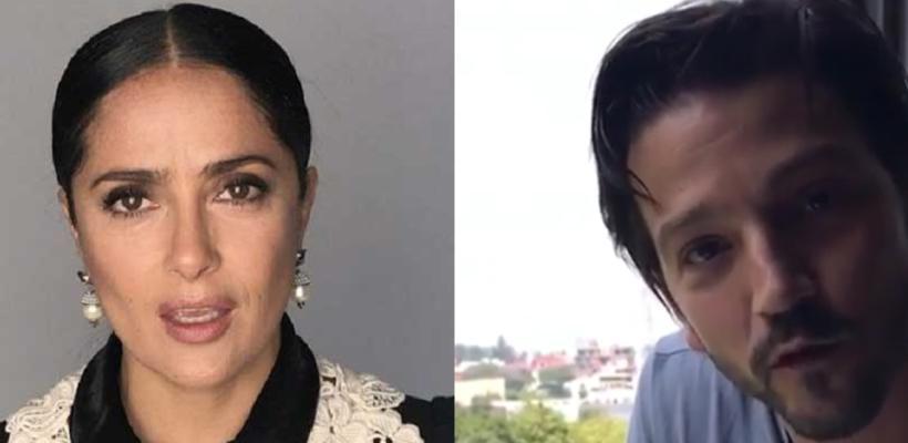 Salma Hayek y otros famosos se unen para apoyar a México