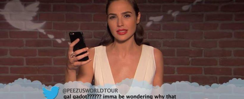Mean Tweets - Gal Gadot, Jennifer Lawrence y Emma Watson