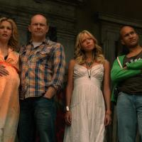 Leslie Bibb, Rob Corddry, Keegan-Michael Key, and Riki Lindhome in Hell Baby (2013)