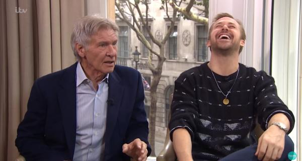 Ryan Gosling y Harrison Ford en una graciosa entrevista en This Morning