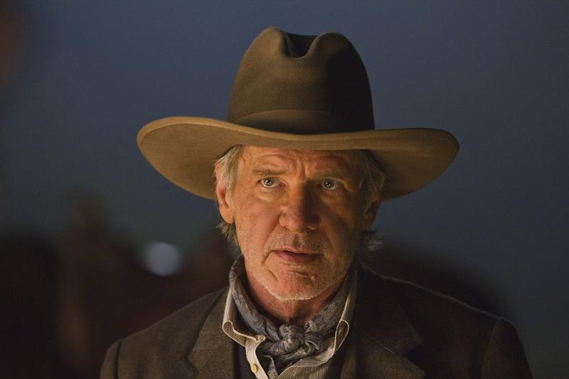 Harrison Ford in Cowboys & Aliens (2011)  Titles: Cowboys & Aliens