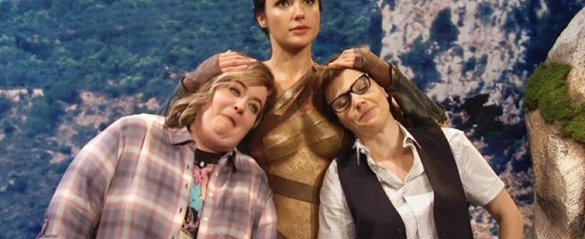 Mujer Maravilla sketch Saturday Night Live