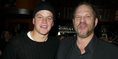 Matt Damon se defiende de las acusaciones de encubridor de Harvey Weinstein