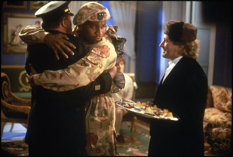 Robin Williams, Michael Gambon, and LL Cool J in Toys (1992)