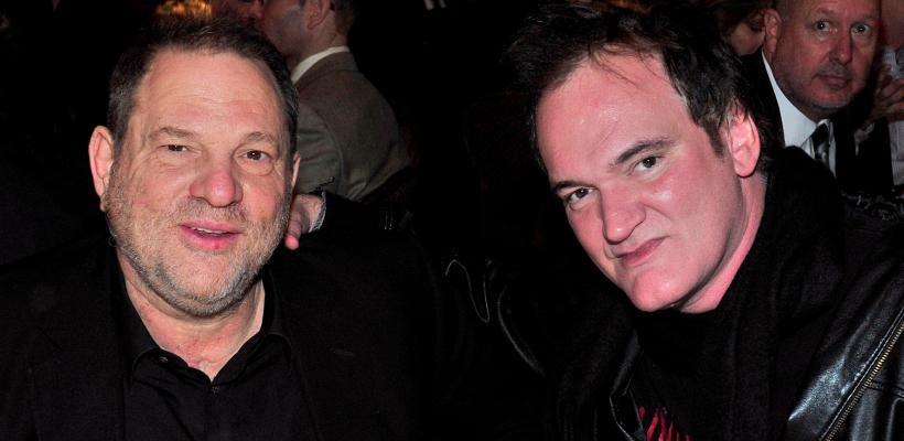 Quentin Tarantino habla sobre la conducta de su amigo Harvey Weinstein