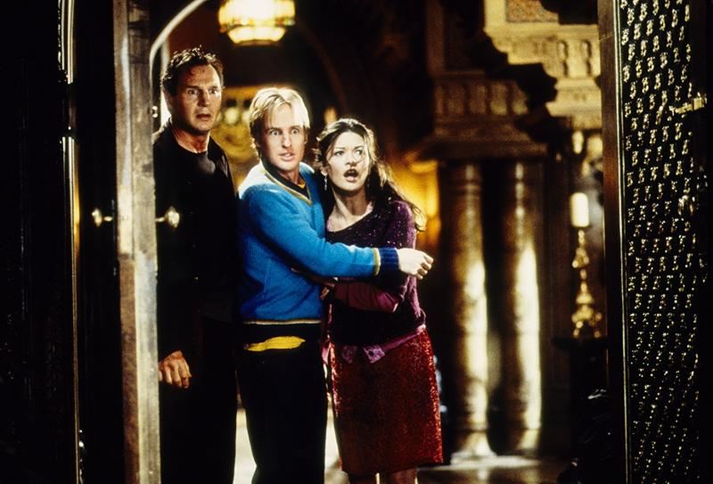 Liam Neeson, Catherine Zeta-Jones, and Owen Wilson in The Haunting (1999)