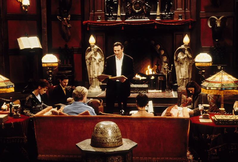 Liam Neeson, Lili Taylor, Catherine Zeta-Jones, Owen Wilson, and Todd Field in The Haunting (1999)