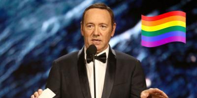 Kevin Spacey se declara homosexual tras ser acusado por Anthony Rapp de acoso sexual