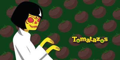 Calaveras de tomate dulce (limón partido)
