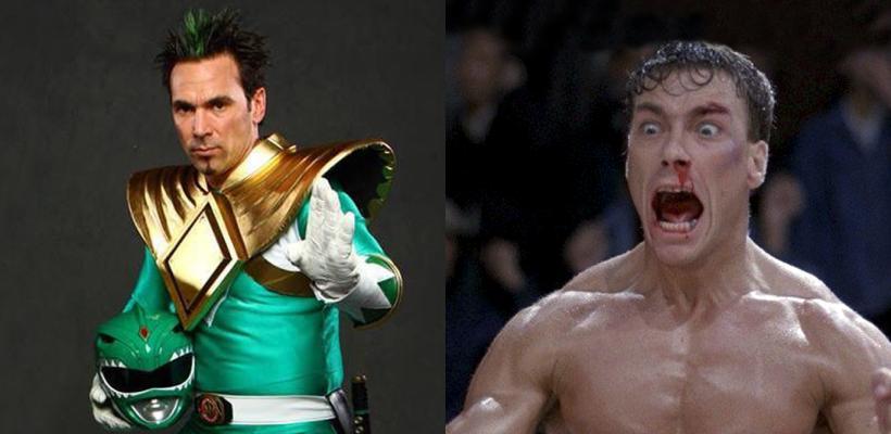 Jean-Claude Van Damme y el Power Ranger Verde tuvieron un enfrentamiento real hace unos días