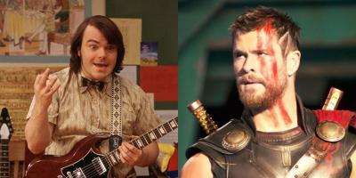 Jack Black acusa a Thor: Ragnarok de plagiar Escuela de Rock y Chris Hemsworth le responde