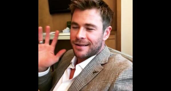 Chris Hemsworth responde a Jack Black