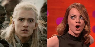 Emma Stone se convierte en la versión femenina de Legolas para la serie Maniac