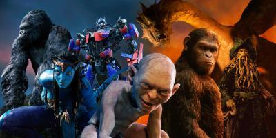 Los mejores personajes del cine hechos por computadora (CGI)