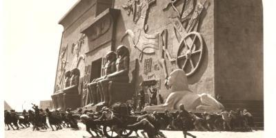 Encuentran una esfinge de la película Los Diez Mandamientos después de 95 años